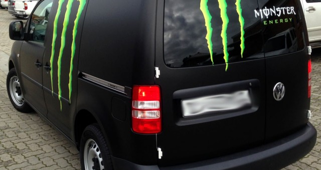 Monster Energy Drink – VW Caddy's